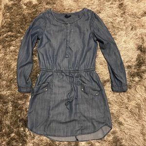 Gap chambray shirt dress